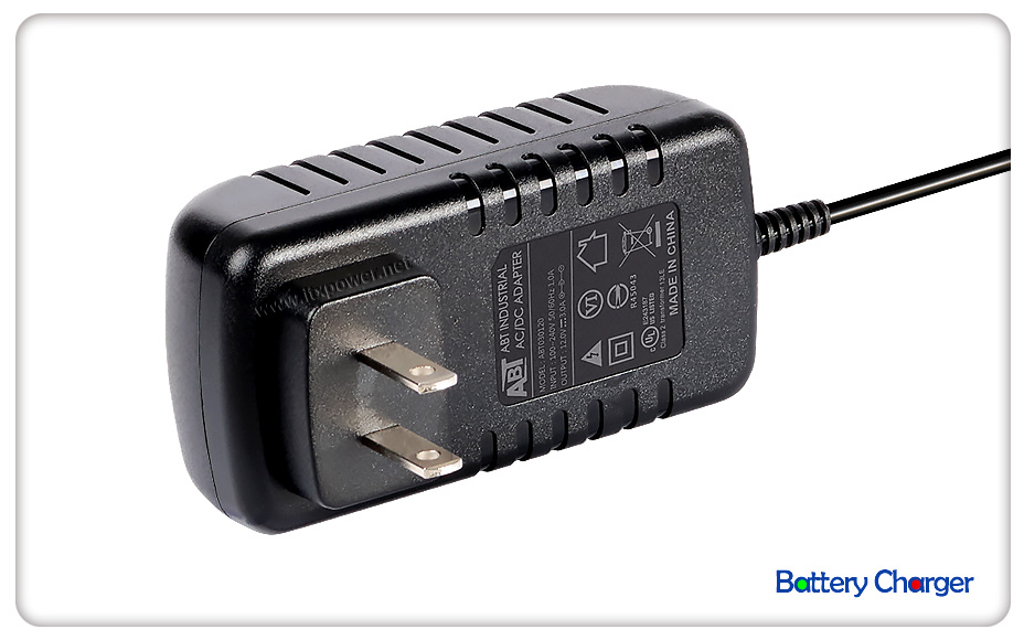12V 1A Battery Charger